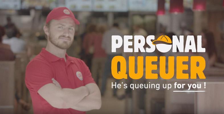 BurgerKingPersonalQueue