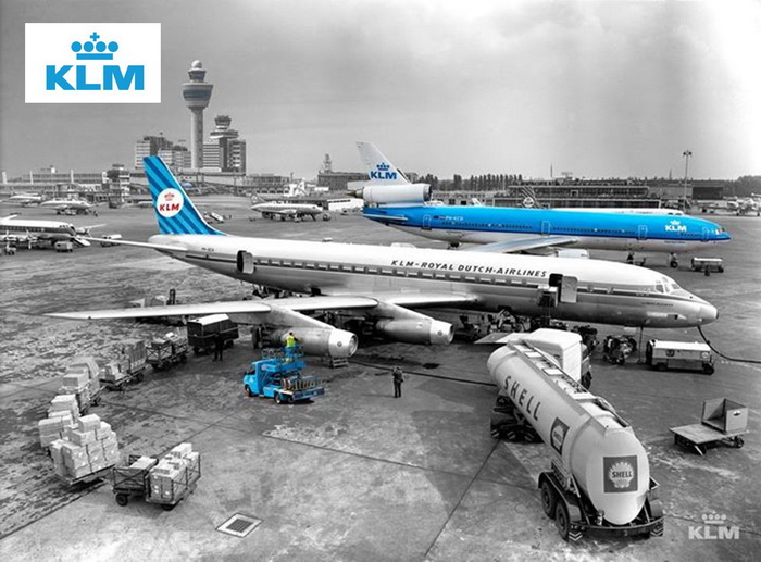 KLM airline history