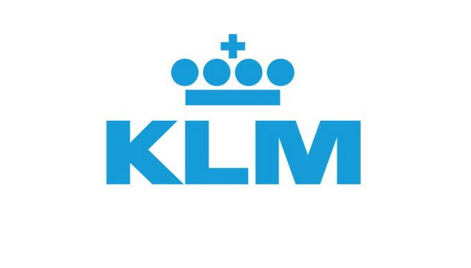 KLM logo airline