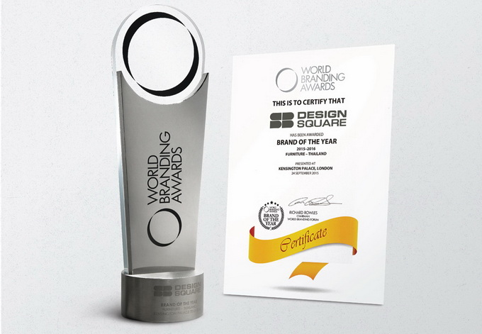 sb furniture  branding award