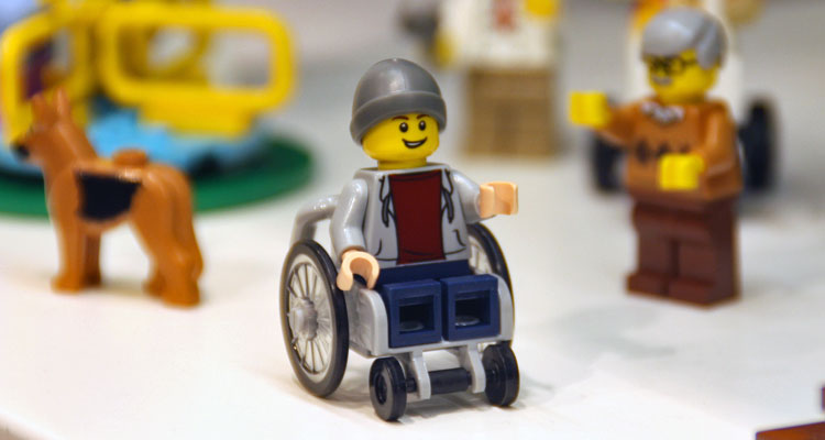 Lego On Wheelchair