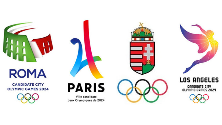 olympic-big-logos-rome-paris-budapest-los-angeles