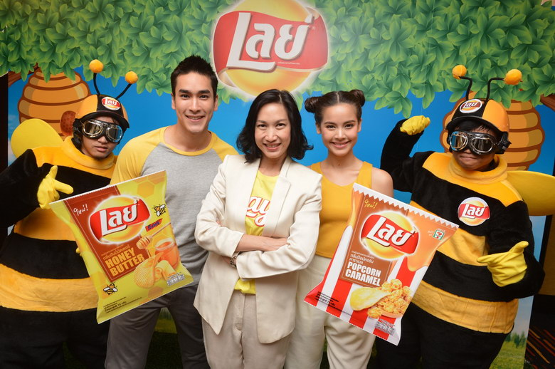 Lay's Sweet thailand