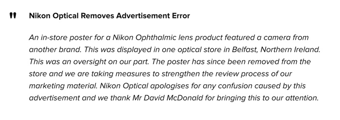 Nikon-Statement