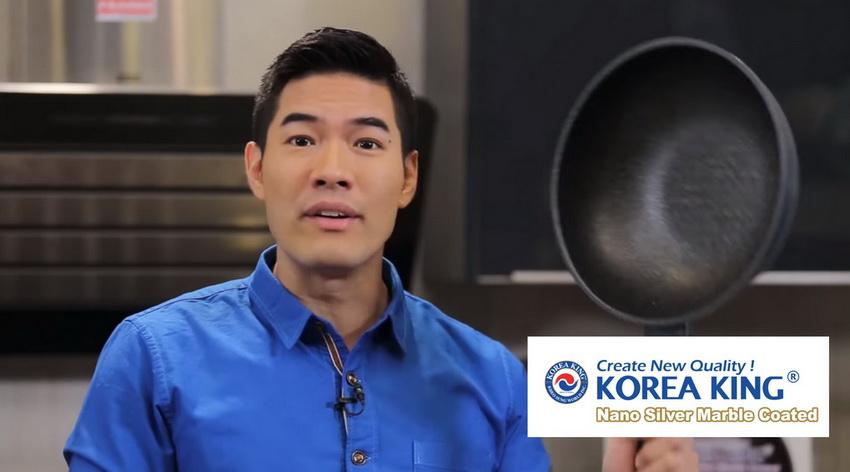 korea king pan cooking