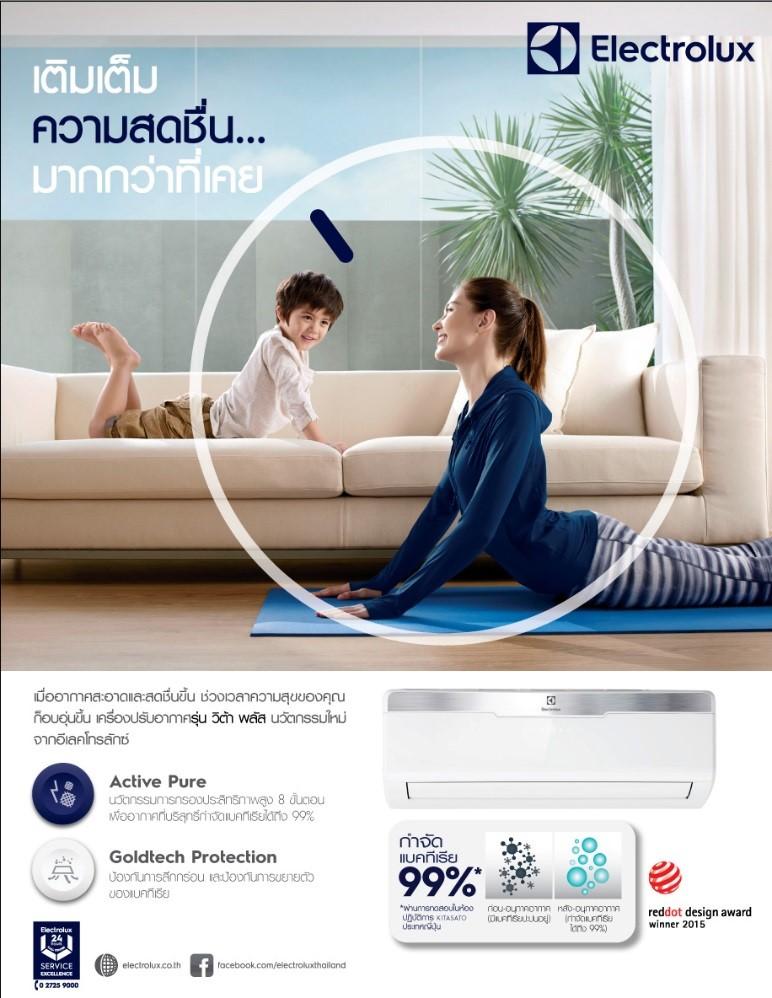 Electrolux vita plus aircon 3