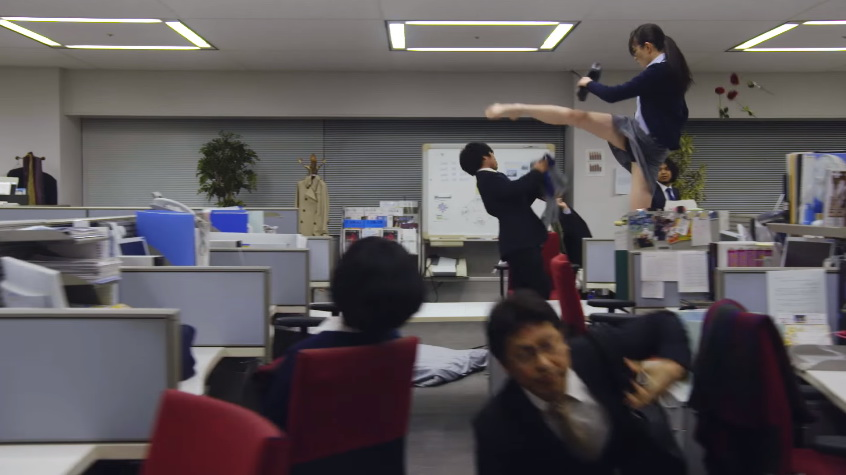 kiwi japanese ads foot workers