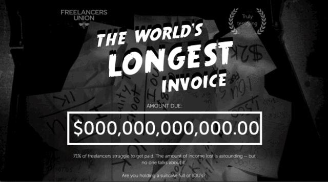 world largest bill freelance