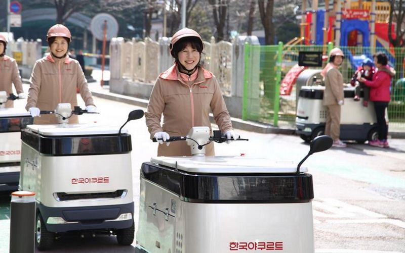 yakult korea delivery cart (1)
