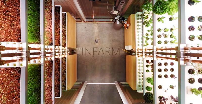 Infram metro micro farm garden