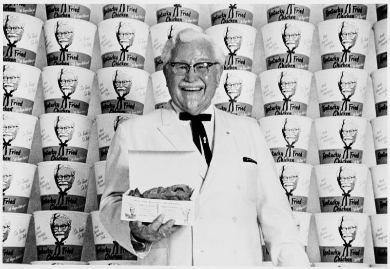 KFC brand history Sander Colonel เดวิด แซนเดอร์ส