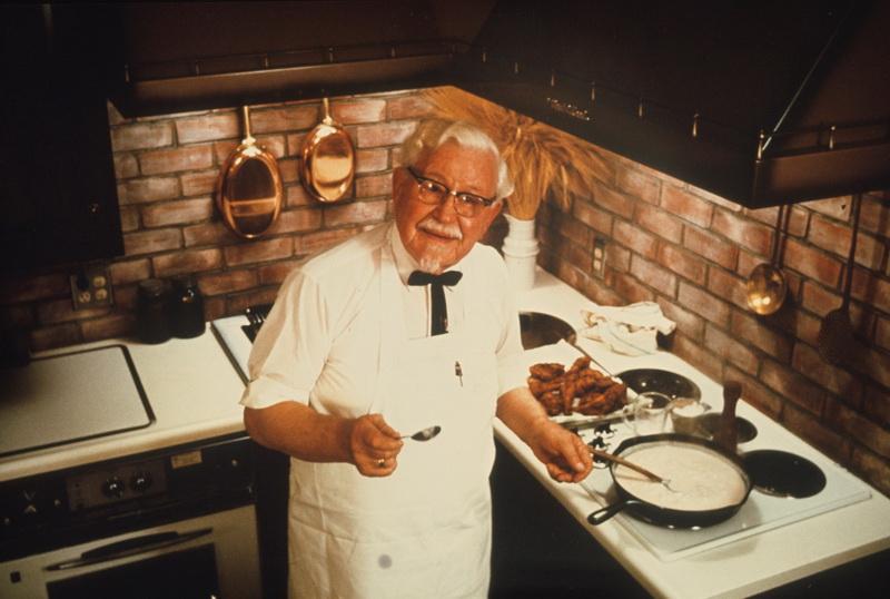 KFC brand history Sander Colonel เดวิด แซนเดอร์ส2