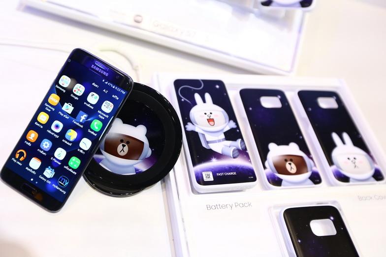 Samsung x LINE