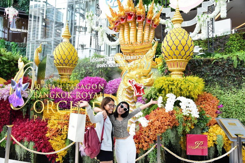 siam paragon royal flower 2016 ดอกไม้a