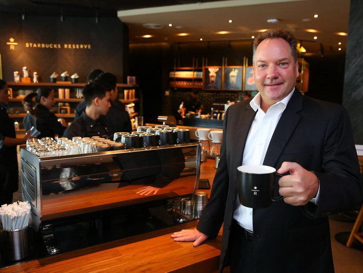 Starbucks Thailand's 18th Anniversary เมอร์เรย์ ดาร์ลิ่ง