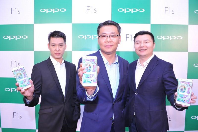 Oppo smartphone 5