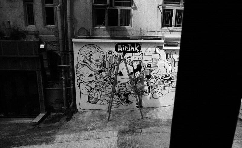 air ink tiger art22