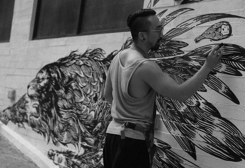 air ink tiger art32