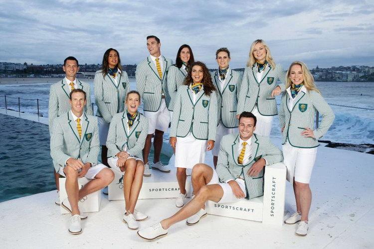 australia uniform 2016 rio olympics