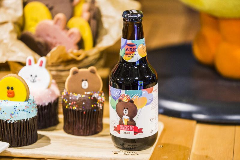 Line เบียร์ Ark Beer Cony Brown2