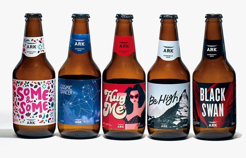 ark beer cony brown line เบียร์ 5