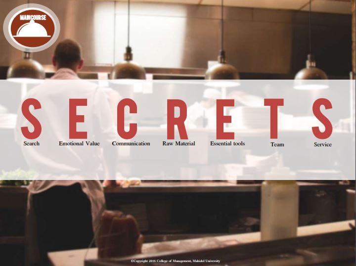 secret food online