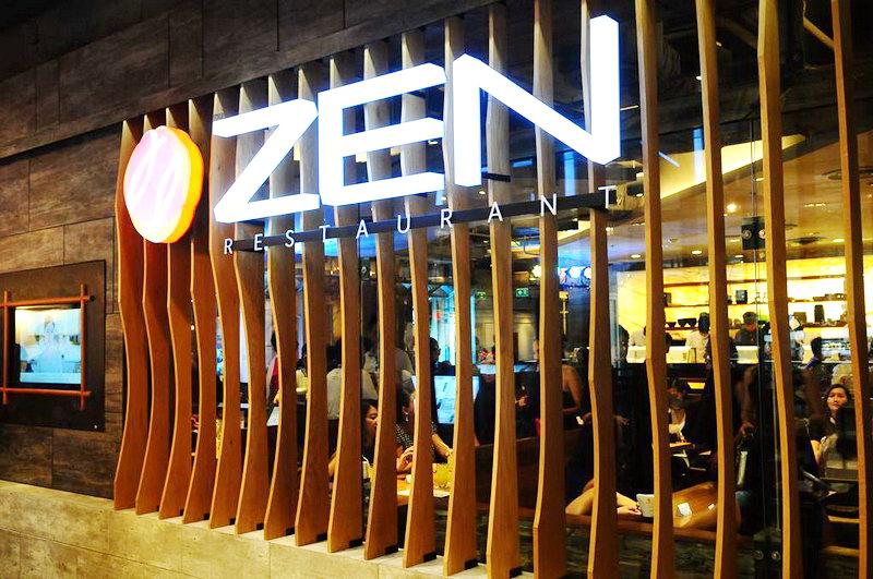 zen japanese restaurant logo